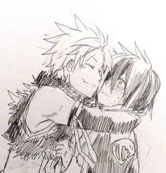 Sting and Rogue Fairy Tail Ships, Fairy Tail Rogue, Fairy Tail Genderbend, Natsu And Gray, Fairy Tail Comics, Fairy Tail Couples, Cute Dragons, Dragon Slayer, Love Fairy