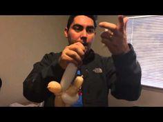 Baby balloon animal - YouTube