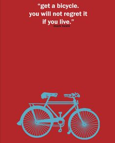 Bicycle Print Quote Print Art Print Bike Poster Cyclist Black