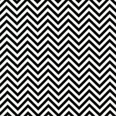 Tissu Remix Zigzag Noir