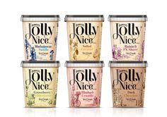 Westonbirt Ice-Cream rebrands as 'Harriet's Jolly Nice' after major brand refresh by Taxi Studio