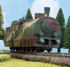 A Sneak Peak at the Polish Train Armoured trains were critical to Poland's survival prior to World War Two and even in 1939 Railway Gun, Abandoned Amusement Parks, Old Trains, Train Engines, Model Train Layouts, Steam Locomotive, Train Tracks, Train Station, Model Trains