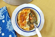 Curry Chicken & Butternut Squash Pot Pie Chicken And Butternut Squash, Fall Food, Pot Pie, Fall Recipes, Oatmeal, Curry, Breakfast, The Oatmeal, Morning Coffee