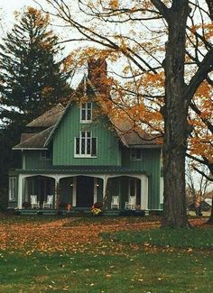 applecottage.quenalbertini: Green apple cottage