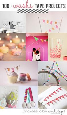 100 + Washi Tapes Project Ideas And Where To Buy Washi Tape by MISSTIFF