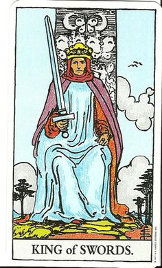 The king of Swords: A clear and logical thinker