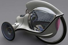 Futuristic+Tricycle+Concepts+-+The+Citroen+E-3POD+Antistatic+is+an+Awesome+Compact+Vehicle+(GALLERY)