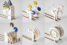 Kinetic sculptures by Jean-Michel Verbeeck, on behance Japanese Typography, Typography Poster, Graphic Design Typography, Diy Straw, Art Story, Type Posters, 3d Artwork, Hand Type, Sustainable Design