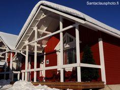 Un chalet de Santa Claus Holiday Village au Village du Père Noël à Rovaniemi en Laponie