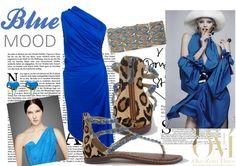 Blue Mood in Polo Ralph Lauren and Sam Edelman http://www.deifashionstore.com/women/polo-ralph-lauren-dress-1.html http://www.deifashionstore.com/women/sam-edelman-sandal-1.html