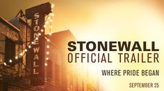 #Stonewall   Official Trailer   In theaters September 25, 2015
