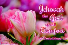 """""""Blessed be the God and Father of our Lord Jesus Christ, the Father of tender mercies and the God of all comfort.""""   ~2 Cor 1:3"""