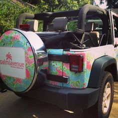Not a fan of jeeps AT ALL but cute pattern