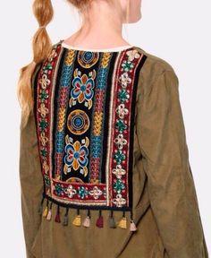 Veste boheme chic Hijab Fashion, Hobo Chic, Kaftan, Fall Winter, Jacket