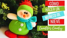 ➤Como Hacer Un MUÑECO DE NIEVE ★-  (CURSO +MOLDE GRATIS!!!)  -Manualidad... Christmas Crafts, Christmas Ornaments, Snowman, Navidad Diy, Holiday Decor, Doll, Handmade, Santa, Doll Outfits