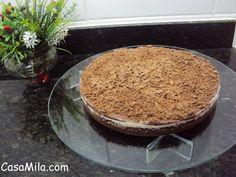 CasaMila.com: Torta Fácil de Limão e Chocolate...Humm...