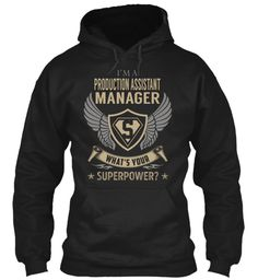 Production Assistant Manager #ProductionAssistantManager