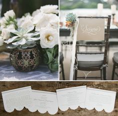 chairs newlyweds