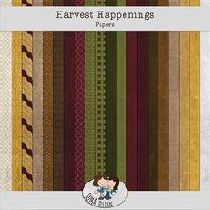 Oscraps.com :: Shop by Category :: All New :: SoMa Design: Harvest Happenings - Kit Happenings, Harvest, Scrapbook, Kit, Shit Happens, Paper, Design, Events