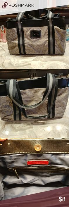 Timeless Tommy Hilfiger Casual shoulder purse A very simplistic Tommy purse great for casual events , has some signs of wear as shown in the pictures I am pricing to sell. Tommy Hilfiger Bags Shoulder Bags