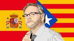 Timo Seppänen Espanja, Katalonia -illustration @ Stina Tuominen