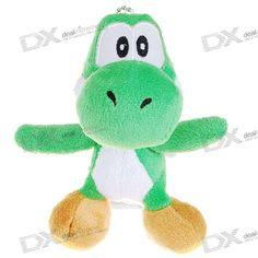 Cute Super Mario Figure Keychain Toy - Yoshi (Green)