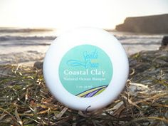 Santa Cruz Skin's Coastal Clay with natural earth clay, grapeseed oil, soothing organic aloe, kelp and spirulina from the sea. Coastal Clay removes oils, grime, and environmental damage from skin, while nourishing and enriching the skin.