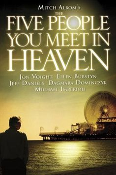 The Five People You Meet in Heaven: Part 1 / Part 2 (2004)The TV-movie adaptation of Mitch Albom's tearjerking best-seller co-stars Jon Voight and Ellen Burstyn. Available October 15 #refinery29 http://www.refinery29.com/2015/09/94815/whats-coming-to-netflix-in-october#slide-78