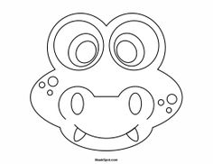 printable goat mask template kids club pinterest goat mask