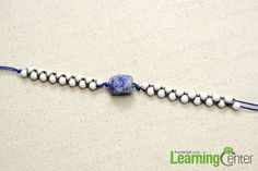 Add the same beads for the other side of bracelet