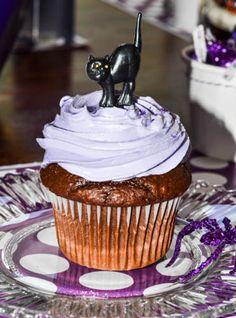 Retro Cat Cupcake topper
