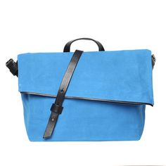 Gustav Messenger Happy Blue, $275, now featured on Fab.  Cute!  This would go SO GREAT with a couple of my favorite shirts.  Love!