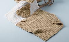 Book Baby 78 Autumn / Winter | 4: Baby Bedspread | Camel / White