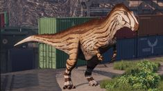 Acrocanthosaurus Prehistoric Wildlife, Prehistoric Creatures, Primal Carnage, Dinosaur Discovery, Cool Dinosaurs, Dinosaur Art, Strange History, Prehistory, Creature Design