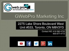 We, GWebPro Marketing.Inc are a one stop solution for all your digital marketing requirements. Online Marketing, Digital Marketing, The Unit