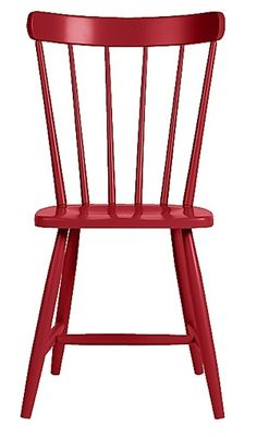 10 Easy Pieces: Red Dining Chairs : Remodelista