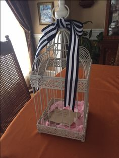 Gift Card Bird Cage