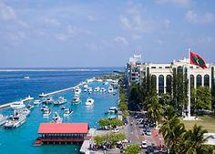 Male' The Capital Of Maldives