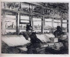 Edward Hopper, House Tops, 1921. Philadelphia Museum of Art.