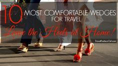 """Women always want to know, """"Should I pack heels for Europe?"""" Find out what the TFG readers had to say and a list of their top 10 picks!"""