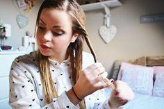 HAIR: krullen zonder krultang - Fashionista