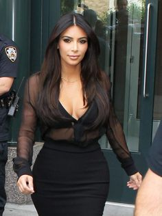 a9225cd60c424 Kim Kardashian wearing the La Perla Timeless Bra. Kardashian Photos