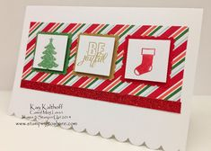 Super Easy Holiday Cheer Gift Card Holder with How To Video, Cased Meg Loven, Nordic Noel Designer Series Paper, Kay Kalthoff is Stamping to Share with Stampin' Up! Stampin Up Christmas, Christmas Cards To Make, Xmas Cards, Holiday Cards, Christmas 2014, Diy Cards, Girls Basketball, Girls Softball, Volleyball Players