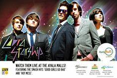 Cobra Starship - Live At The Ayala Malls 2010