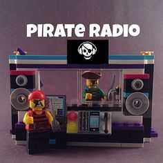 いいね!208件、コメント10件 ― Kathy Cabralさん(@lego_chick106)のInstagramアカウント: 「PIRATE RADIO STATION: While pirate just refers to the illegal nature of the broadcasts, there have…」