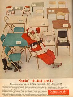 1960s Home Decor, Folding Furniture, Old Fashioned Christmas, Butterfly Chair, Vintage Christmas, Spirit, Antique Christmas, Primitive Christmas, Old Time Christmas