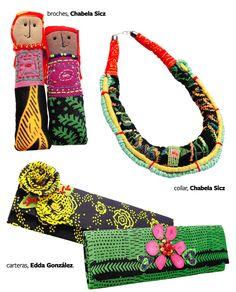 Con mucho orgullo les presento, expositora en #DesignSoireé y querida amiga, Chabela Sicz! Su especialidad es la joyería textil de todos tipos y ahora tiene una nueva collecion de muñecas preciosa inspiradas en las indígenas Kunas. Le felicitamos por tener su hermoso collar en la portada de ELLAS mañana! Ya saben no se lo pueden perder! #DesignSoireé el 28 de septiembre en Tantalo de 1-6! Stay tuned much more to come :). Mas info busca Chabela Sicz en facebook