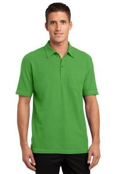 Port Authority® Modern Stain-Resistant Pocket Polo. K559.