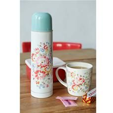 Cath Kidston - Bleached Flowers Thermos Flask
