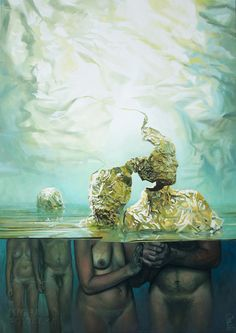 METAMORPHOSIS - 2016 Oil on canvas 80cm/100cm